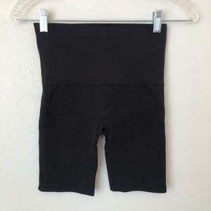 Like New Spanx Black Biker Shorts Small